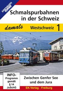 Schmalspurbahnen in der Schweiz damals - Teil 1 Westschweiz. DVD