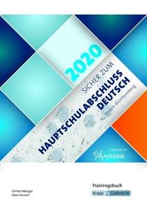 Sicher zum, Hauptschulabschluss Deutsch Baden-Württemberg 2020