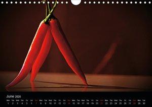 Hot Chili Calendar Great Britain Edition