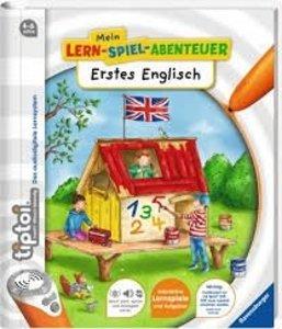 Ravensburger 00901 - tiptoi® Erstes Englisch Lernbuch, Vorschule