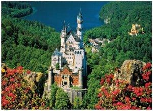 Schloss Neuschwanstein - 1000 Teile