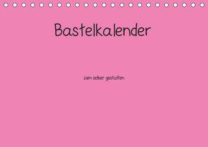 Bastelkalender - Pink