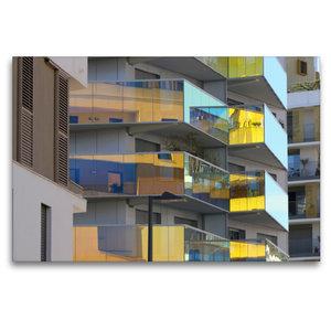 Premium Textil-Leinwand 120 cm x 80 cm quer Residence Koh-I-Noor