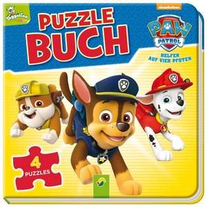 PAW Patrol Puzzlebuch