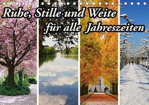 Ruhe, Stille und Weite für alle Jahreszeiten (Tischkalender 2019