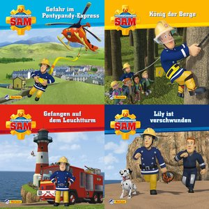 4er-Set Maxi-Mini 2: Feuerwehrmann Sam