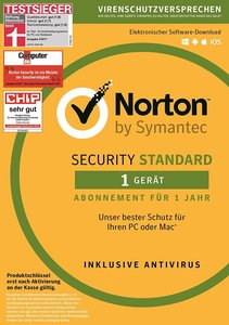 SYMANTEC - Norton Security Standard (1 Gerät - PC/Mac) (Code)