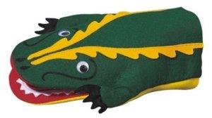 Kersa Classic 12490 - Handpuppe Krokodil Klappert