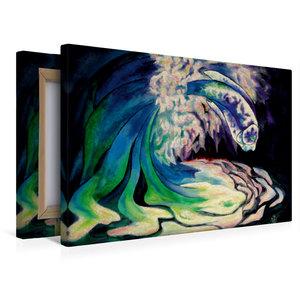 Premium Textil-Leinwand 45 cm x 30 cm quer Das Geschenk