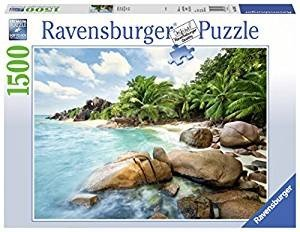 Ravensburger 163342 - Traumhafter Strand - Puzzle, 1500 Teile