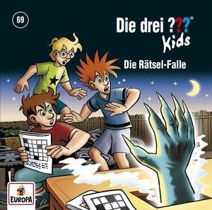 Die drei ??? Kids 69: Die Rätsel-Falle, 1 Audio-CD