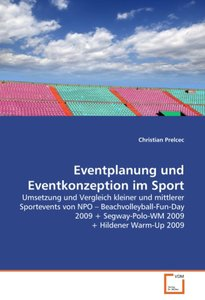 Eventplanung und Eventkonzeption im Sport