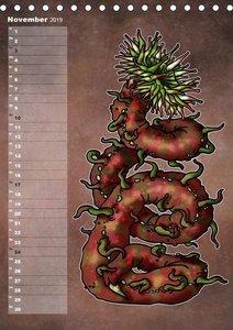Bestiarium Vladi Krafft (Tischkalender 2019 DIN A5 hoch)
