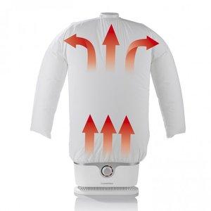 CLEANmaxx Bügler 1800W silber/weiß für Hemden & Blusen