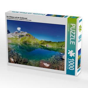 Der Wildsee mit der Großwand 1000 Teile Puzzle quer