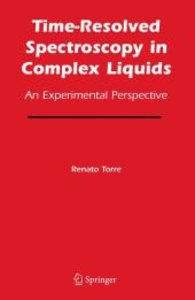 Time-Resolved Spectroscopy in Complex Liquids