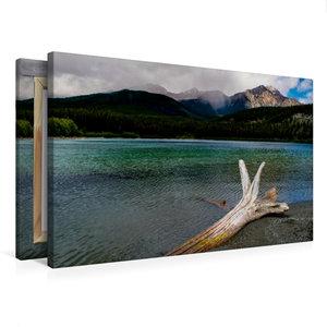 Premium Textil-Leinwand 75 cm x 50 cm quer Patricia Lake