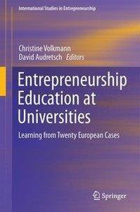 Entrepreneurship Education at Universities