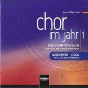 Chor im Jahr 1. Audiothek 4 CDs