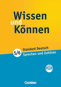 Wissen und Können 5./6. Schuljahr. Sprechen und Zuhören. Arbeits