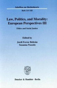 Law, Politics, and Morality: European Perspectives