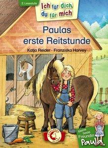 Paulas erste Reitstunde