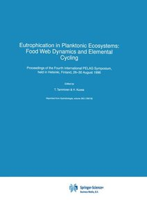 Eutrophication in Planktonic Ecosystems: Food Web Dynamics and E