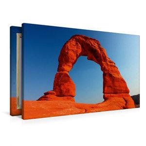 Premium Textil-Leinwand 90 cm x 60 cm quer Delicate Arch, Arches