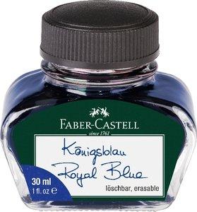 Tintenglas Königsblau löschbar 30 ml