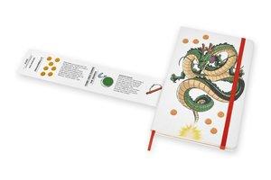 Moleskine Notizbuch - Dragonball Large, A5, Liniert, Fester Stof
