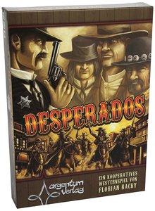 Argentum ARG00014 - Desperados, Brettspiel, Westernspiel