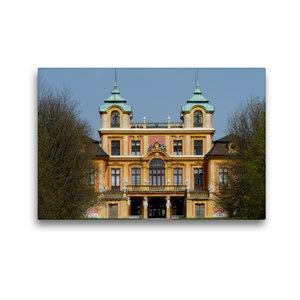 Premium Textil-Leinwand 45 cm x 30 cm quer Favorite-Schloss Ludw