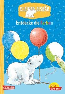 Pixi kreativ Nr. 76: VE 5 Kleiner Eisbär: Entdecke die Farben