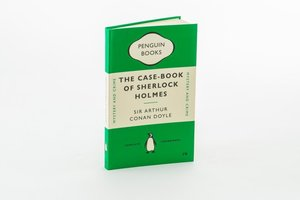 Notebook - The Casebook of Sherlock - Arthur Conan Doyle. Green