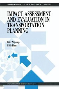 Impact Assessment and Evaluation in Transportation Planning