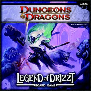 Wizards - Legend of Drizzt Board Game: A Dungeons & Dragons Boar
