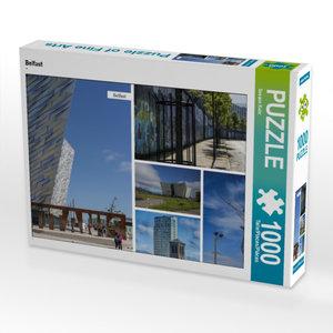 CALVENDO Puzzle Belfast 1000 Teile Lege-Größe 64 x 48 cm Foto-Pu