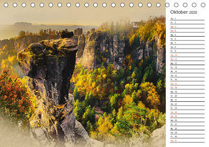 Traumhafte Sächsische Schweiz (Tischkalender 2020 DIN A5 quer)