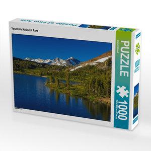 CALVENDO Puzzle Yosemite National Park 1000 Teile Lege-Größe 64