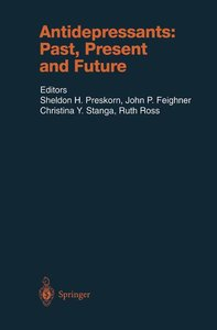 Antidepressants: Past, Present and Future