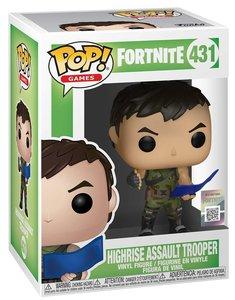 Pop Fortnite Highrise Assault Trooper Vinyl Figure