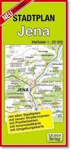 Jena 1 : 20 000. Stadtplan
