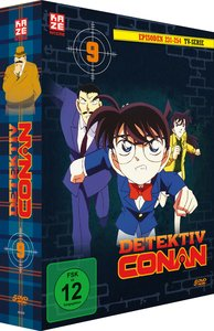Detektiv Conan - TV-Serie - Box 9 (Episoden 231-254)