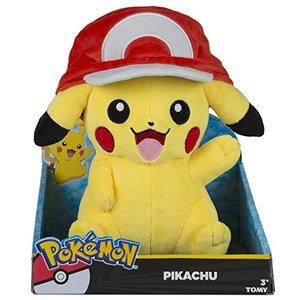 Pikachu mit Ashs Mütze
