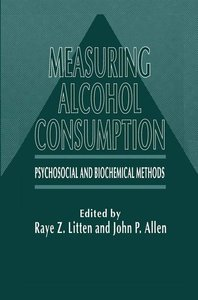 Measuring Alcohol Consumption