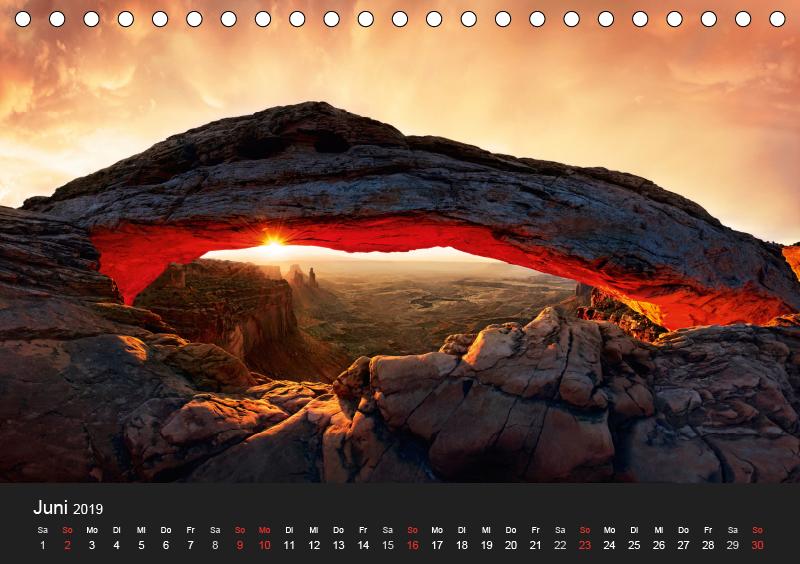 USA Süd-West (Tischkalender 2019 DIN A5 quer) - zum Schließen ins Bild klicken