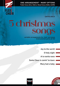 FLEXI-CHOIR 5 christmas songs