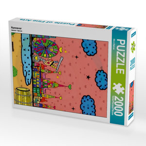 Hannover 2000 Teile Puzzle hoch