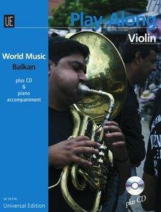 Balkan - PLAY ALONG Violin für Violine mit CD oder Klavierbeglei