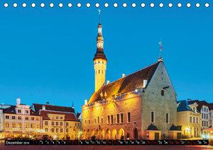 Ein Wochenende in Tallinn (Tischkalender 2019 DIN A5 quer)